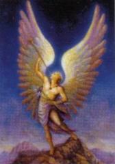 arcángel Gabriel.